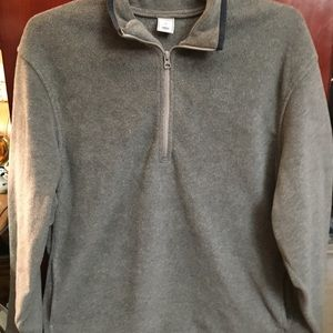 Gray Old Navy Classic Fleece Pullover Size XL